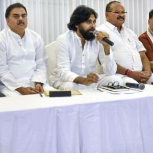 Pawan Kalyan's Jana Sena announces alliance with BJP