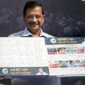 Here's what Kejriwal's 'guarantee card' promises