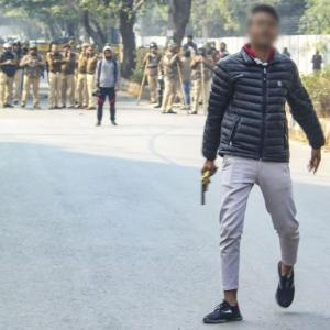 Jamia firing: Police says didn't have time to react
