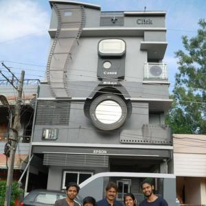 Picture perfect! Man builds home to resemble a camera