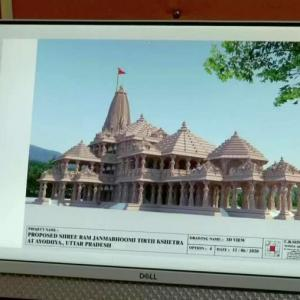 Ram temple in Ayodhya to be completed in 3.5 yrs