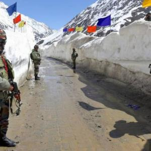 'With China, Indian soldiers have a much tougher job'