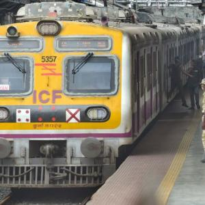 Local trains -- Mumbai's lifeline -- resume services