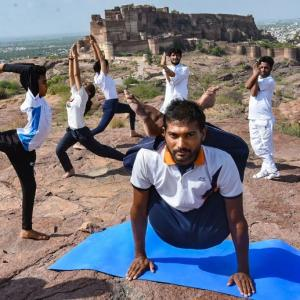 India marks low-key Yoga Day due to COVID-19