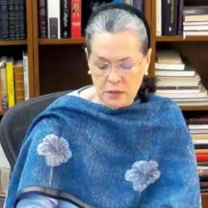 Crisis at LAC due to Modi's mismanagement: Sonia