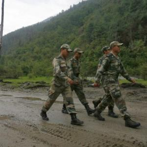 China now steps up activity near Arunachal