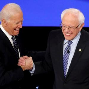 Democratic presidential race is now Biden vs Sanders