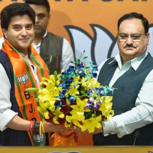 Scindia joins BJP, says Congress denying reality