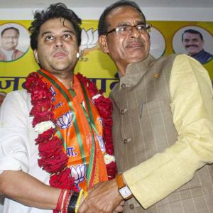 Fortunate that BJP opened doors for me: Scindia