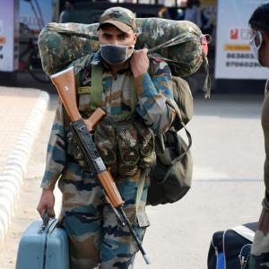 Military takes lead in India's war against coronavirus