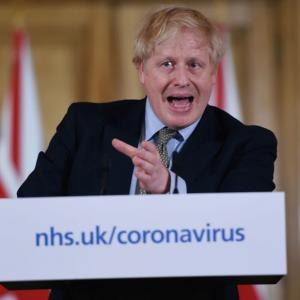 UK PM, health secretary test positive for COVID-19