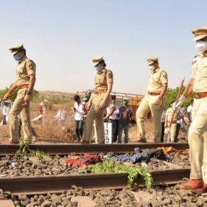 16 migrants sleeping on tracks crushed by goods train