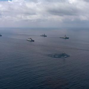 PHOTOS: 1st phase of Malabar exercise in Bay of Bengal