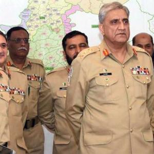 A big reshuffle of Pakistan's generals