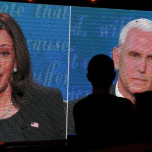 Not taking vaccine if Trump tells us: Kamala Harris
