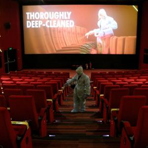 Cinemas get ready to open in new COVID-19 normal