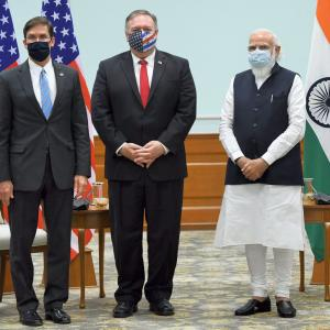 India, US ink key defence pact BECA at 2+2 meet