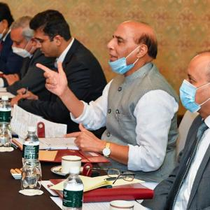 Talks need to go on: Rajnath to Chinese counterpart