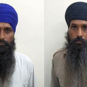 2 Babbar Khalsa terrorists held; arms recovered