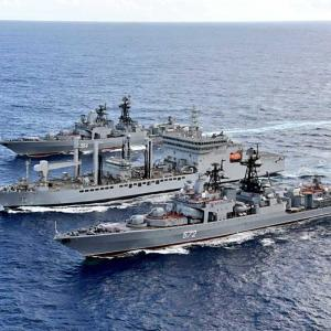 'Indian Navy will protect India's interests'