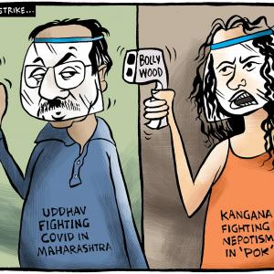 Uttam's Take: Kangana vs Sena