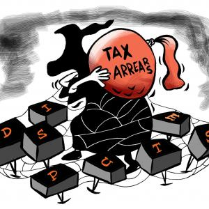 Faceless assessment and the problem of tax arrears