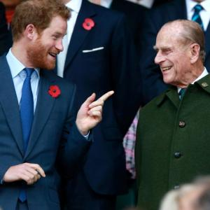 Harry but no Meghan at funeral for UK's Prince Philip