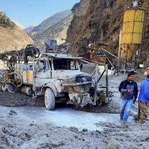 Rishiganga hydro project washed away by glacier burst