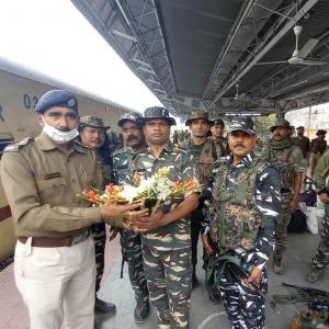 Central forces reach Bengal as poll preparation begins