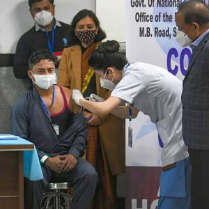 PHOTOS: India rolls out COVID-19 vaccination drive