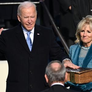 Joe Biden takes oath as 46th US President