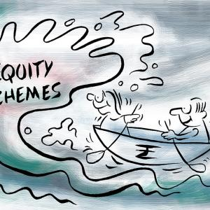 Equity schemes see Rs 330 billion outflow