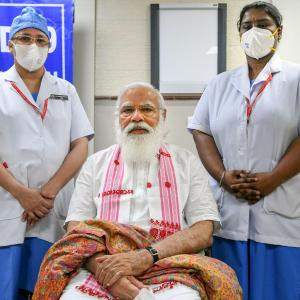 Are you planning to use thick needle, PM asked nurse