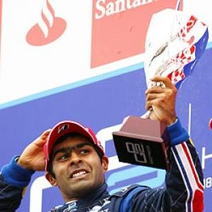 Chandhok sees three chances of F1 drive next year