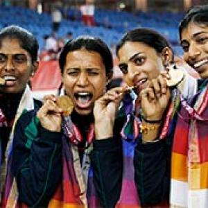 Women's relay team power India to record gold haul
