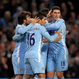 Manchester rivals win as City stay top for Christmas