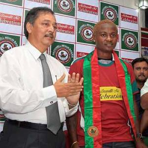 Mohun Bagan signs Odafe for record Rs 2 cr