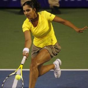 Sania rises in doubles ranking