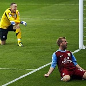 QPR draw with Villa after late own goal from Dunne