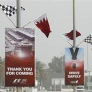 Force India staff leave Bahrain after petrol bomb