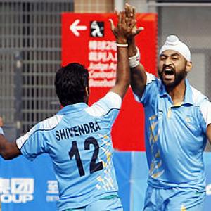 Oly hockey qualifier: Sandeep 'tricks for India