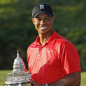 Woods moves up on winners list with AT&T victory