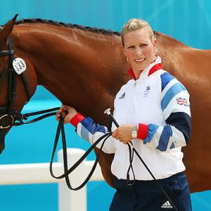 Royal Zara Phillips set to make Olympic equestrian debut