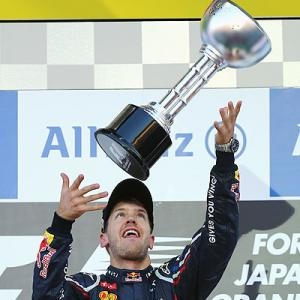 F1 c'ship thrown wide open after Vettel wins in Japan