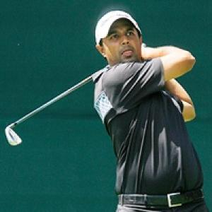 Arjun Atwal drops to third at McGladrey Classic