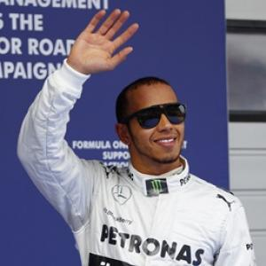 Hamilton on pole for Mercedes in China