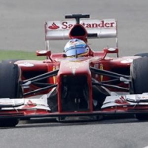 Red is the colour as Alonso wins in China