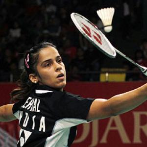 Saina preparing hard for tough test at India Open