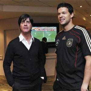 Former Germany captain Ballack and Loew bury hatchet