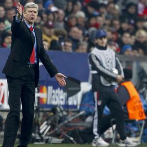 Photos: Wenger hurt by Arsenal exit but proud of win